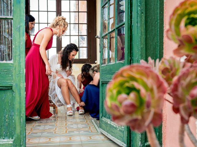 La boda de Carla y Alan en Sant Cugat Sesgarrigues, Barcelona 8