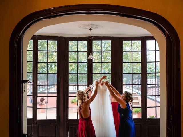 La boda de Carla y Alan en Sant Cugat Sesgarrigues, Barcelona 9