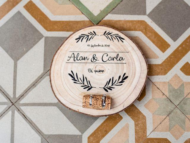 La boda de Carla y Alan en Sant Cugat Sesgarrigues, Barcelona 15