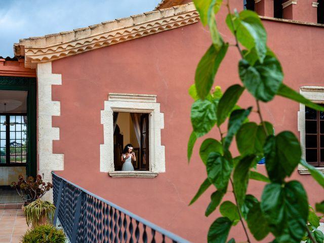 La boda de Carla y Alan en Sant Cugat Sesgarrigues, Barcelona 19