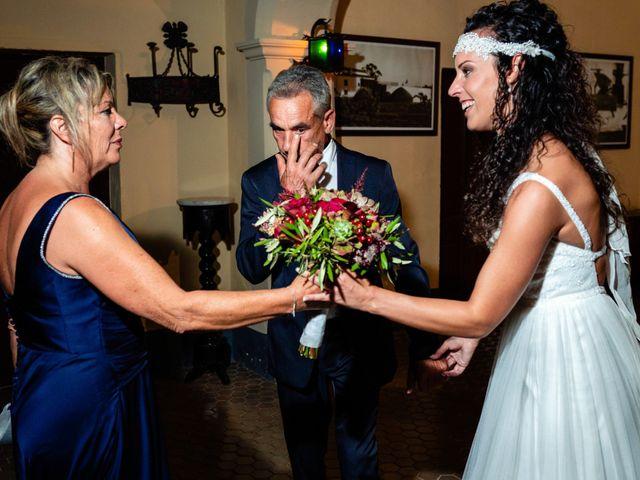 La boda de Carla y Alan en Sant Cugat Sesgarrigues, Barcelona 30