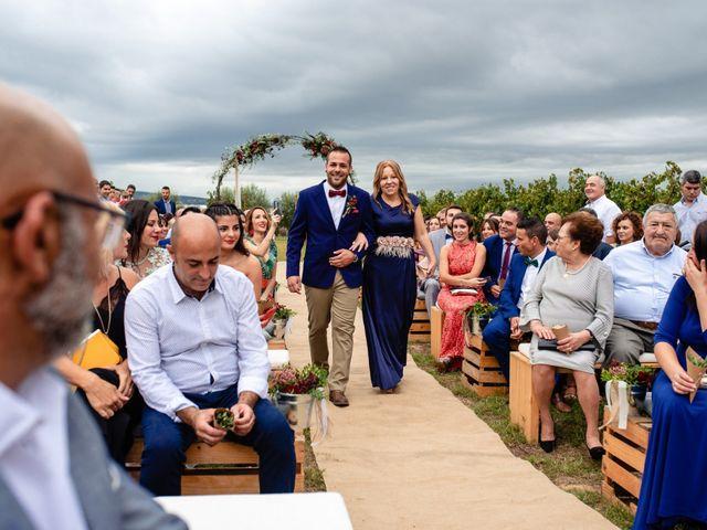 La boda de Carla y Alan en Sant Cugat Sesgarrigues, Barcelona 33