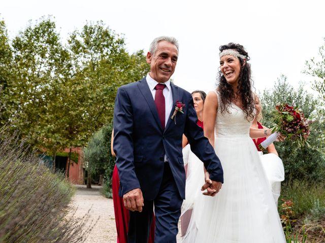 La boda de Carla y Alan en Sant Cugat Sesgarrigues, Barcelona 35