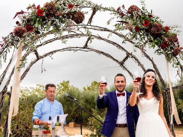 La boda de Carla y Alan en Sant Cugat Sesgarrigues, Barcelona 43