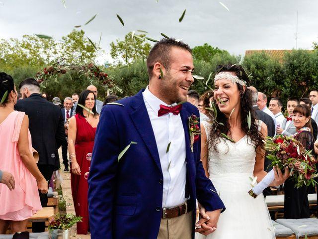 La boda de Carla y Alan en Sant Cugat Sesgarrigues, Barcelona 45
