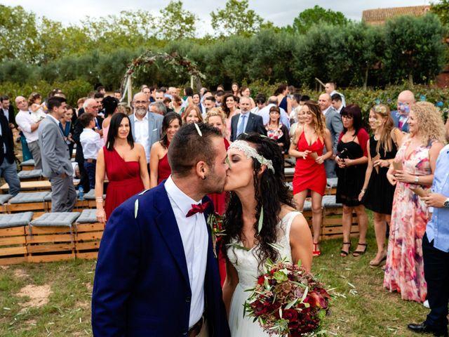 La boda de Carla y Alan en Sant Cugat Sesgarrigues, Barcelona 46