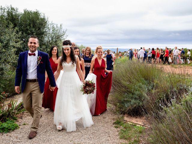 La boda de Carla y Alan en Sant Cugat Sesgarrigues, Barcelona 47