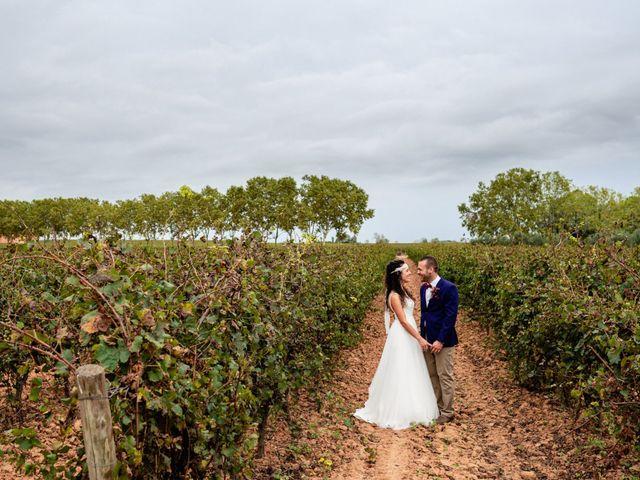 La boda de Carla y Alan en Sant Cugat Sesgarrigues, Barcelona 52