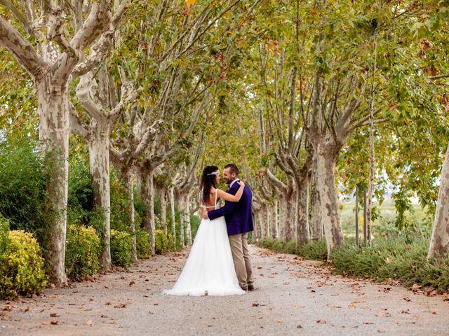 La boda de Carla y Alan en Sant Cugat Sesgarrigues, Barcelona 56