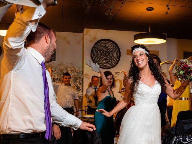 La boda de Carla y Alan en Sant Cugat Sesgarrigues, Barcelona 62