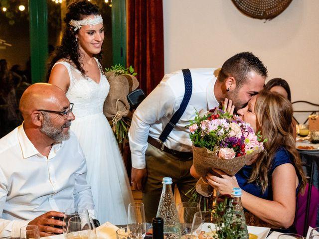 La boda de Carla y Alan en Sant Cugat Sesgarrigues, Barcelona 64