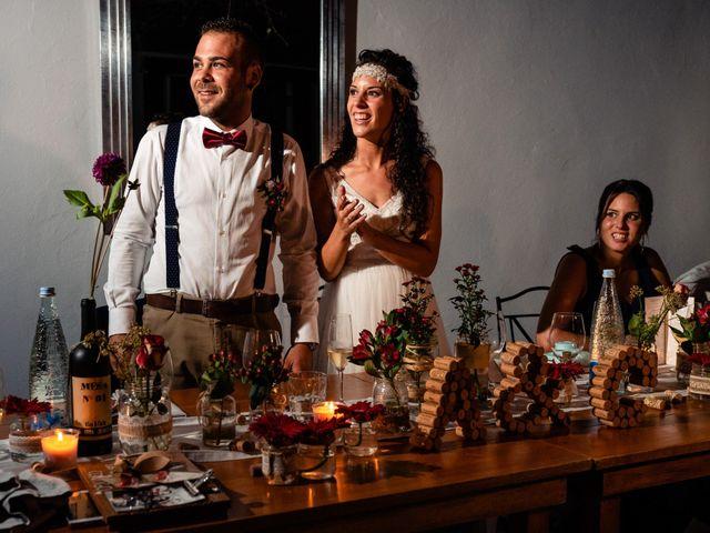 La boda de Carla y Alan en Sant Cugat Sesgarrigues, Barcelona 66
