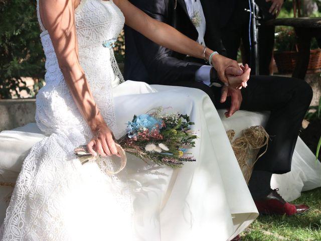 La boda de Carlos y Diana en Chinchon, Madrid 4