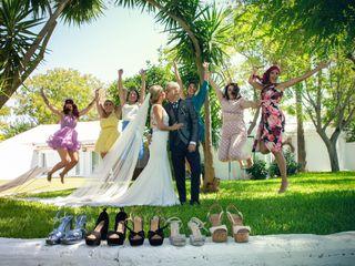 La boda de Ismael y Saray