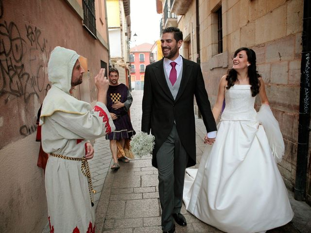 La boda de Jerónimo y Arantxa en Cembranos, León 22