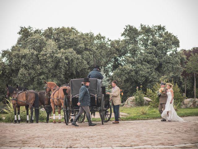 La boda de Luis y Iga en Mangiron, Madrid 23