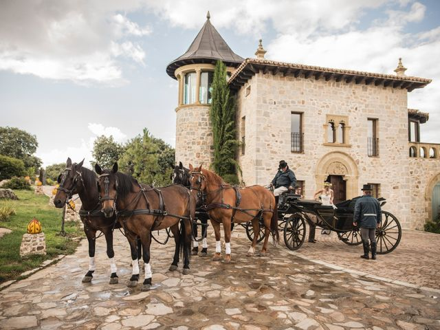 La boda de Luis y Iga en Mangiron, Madrid 25