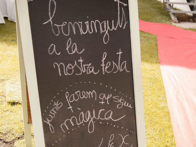 La boda de Xavi y Lisi en Platja D'aro, Girona 21