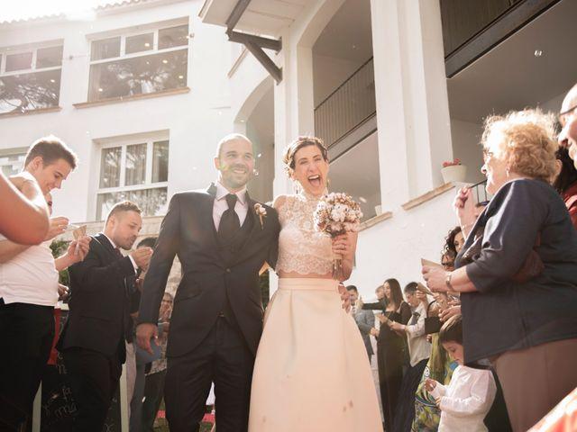 La boda de Xavi y Lisi en Platja D'aro, Girona 1