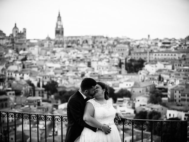 La boda de David y Elena en Toledo, Toledo 16
