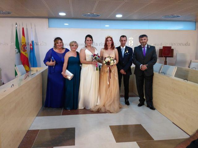 La boda de Sara María González Ruiz y María Moscoso Quintanilla
