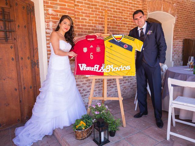La boda de Lázaro y Patricia en Galapagos, Guadalajara 5