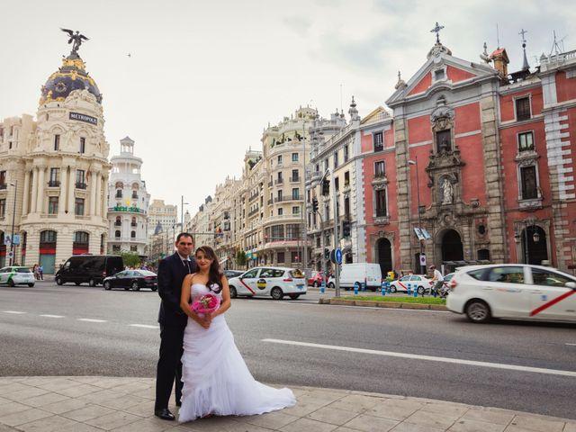 La boda de Lázaro y Patricia en Galapagos, Guadalajara 16