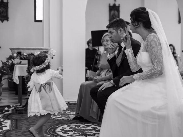 La boda de Rafa y Vanesa en Viñuela, Málaga 1