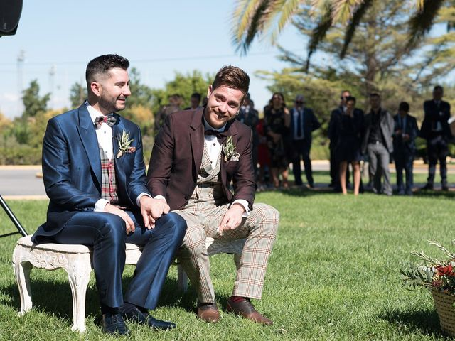 La boda de Dani y Carlos en Alquerías Del Niño Perdido, Castellón 32