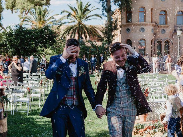 La boda de Dani y Carlos en Alquerías Del Niño Perdido, Castellón 38