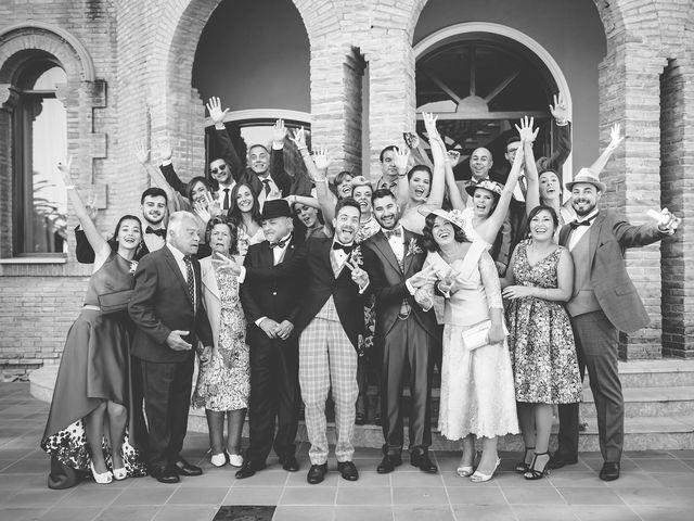 La boda de Dani y Carlos en Alquerías Del Niño Perdido, Castellón 40