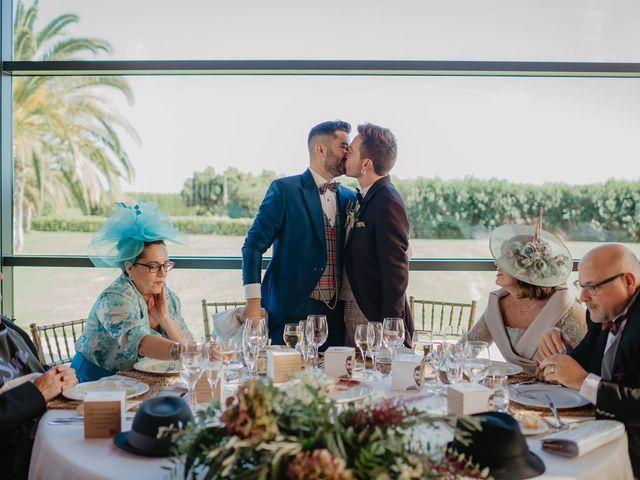 La boda de Dani y Carlos en Alquerías Del Niño Perdido, Castellón 48