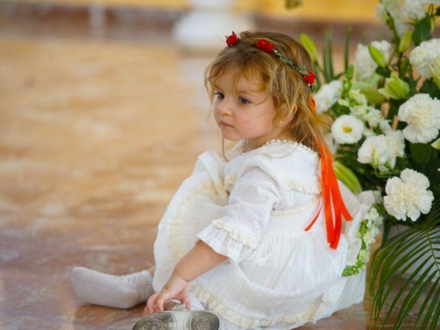 La boda de Sergio y María en Calamonte, Badajoz 22