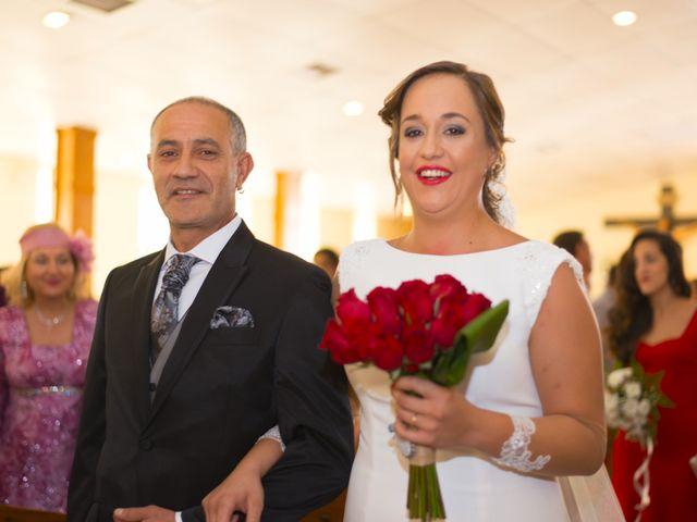 La boda de Sergio y María en Calamonte, Badajoz 24