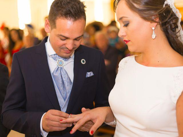 La boda de Sergio y María en Calamonte, Badajoz 25