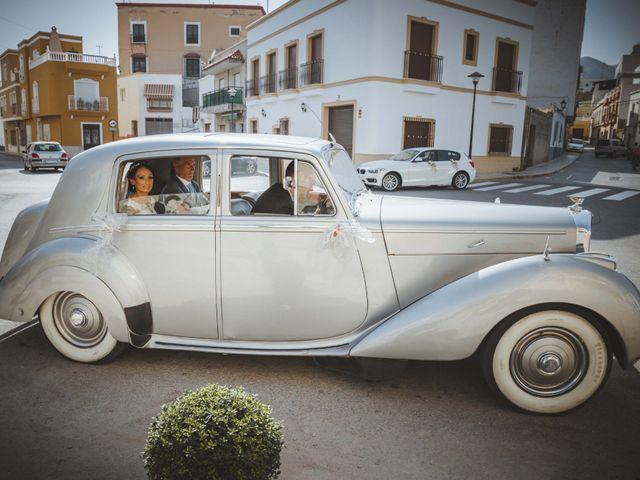 La boda de Fran y Lidia en La Curva, Almería 20