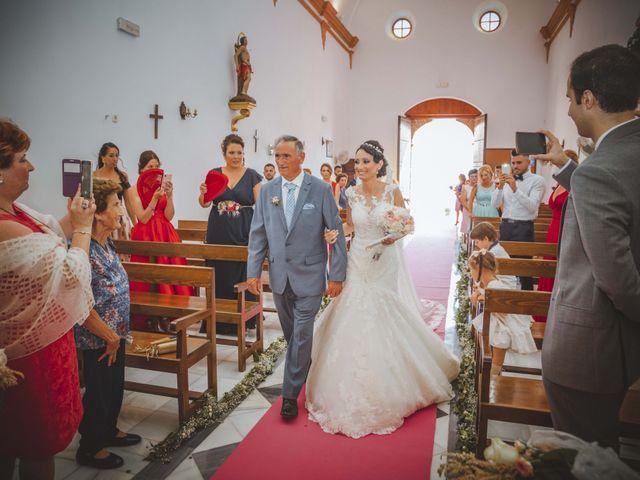 La boda de Fran y Lidia en La Curva, Almería 21