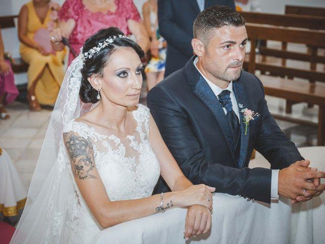 La boda de Fran y Lidia en La Curva, Almería 31