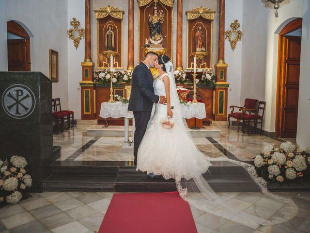 La boda de Fran y Lidia en La Curva, Almería 32