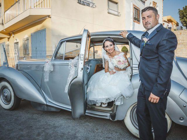 La boda de Fran y Lidia en La Curva, Almería 37