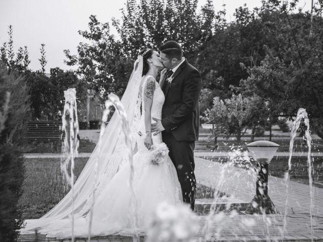 La boda de Fran y Lidia en La Curva, Almería 41