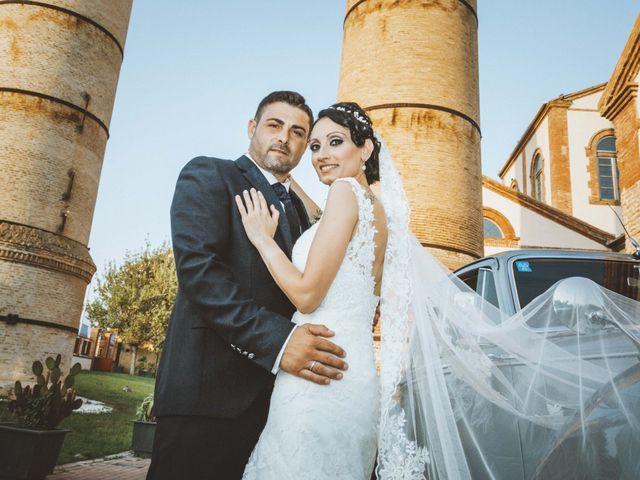 La boda de Fran y Lidia en La Curva, Almería 42