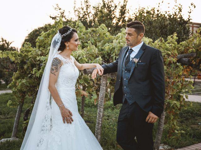 La boda de Fran y Lidia en La Curva, Almería 44