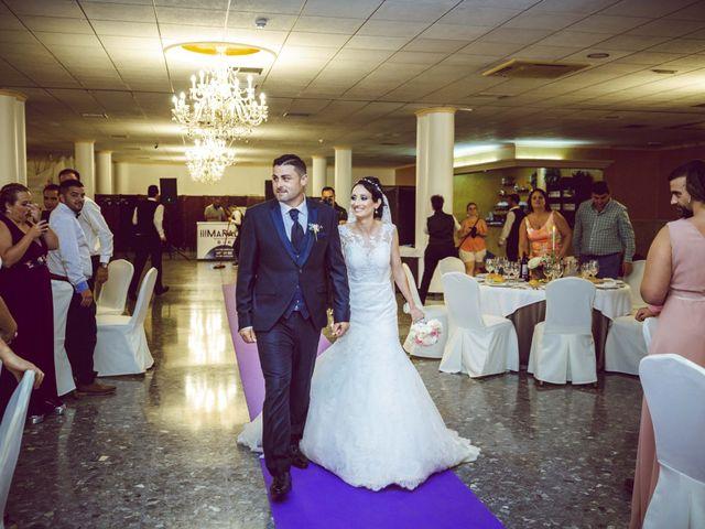 La boda de Fran y Lidia en La Curva, Almería 46