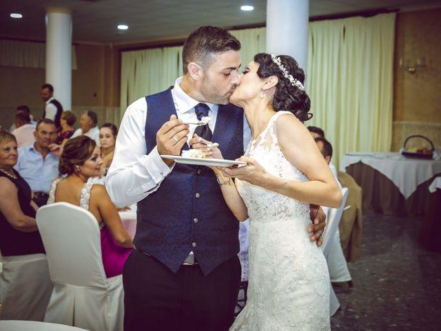 La boda de Fran y Lidia en La Curva, Almería 50