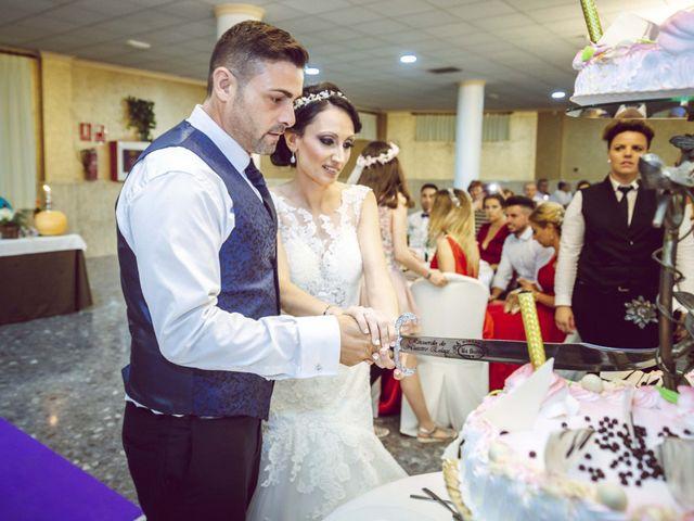 La boda de Fran y Lidia en La Curva, Almería 51