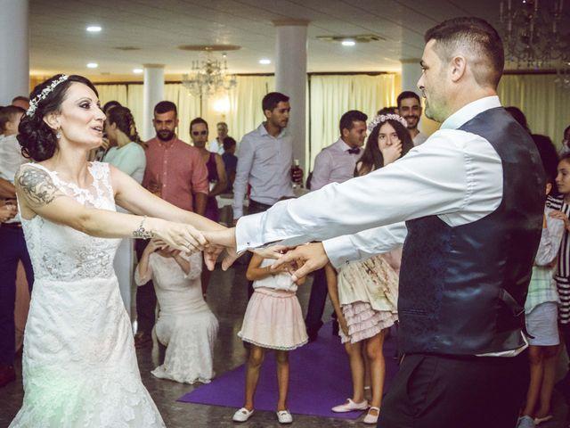 La boda de Fran y Lidia en La Curva, Almería 52