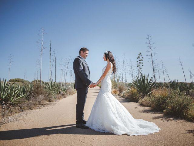 La boda de Fran y Lidia en La Curva, Almería 55