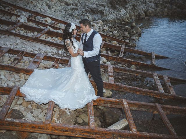 La boda de Fran y Lidia en La Curva, Almería 62