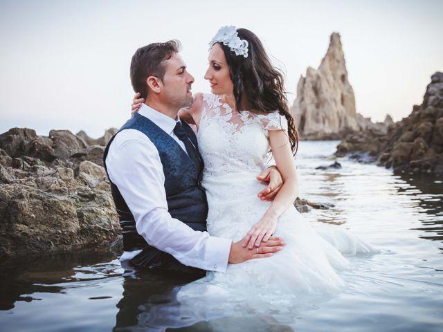 La boda de Fran y Lidia en La Curva, Almería 2